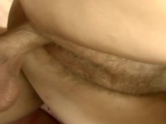Blonde gilf gets hard cock in her pussy Thumb
