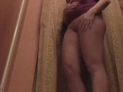 Young masseuse gets soaped up during bathroom rubdown Thumb