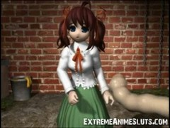 Ugly Monsters Fuck 3D Teen! Thumb