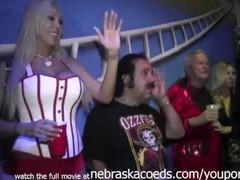 ron jeremy hosting naked slut contest during fantasy fest key west Thumb