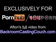 Fit Afton on Backroom Casting Couch - Full video Thumb