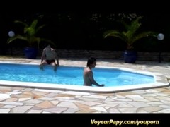 pool party with voyeur papy Thumb