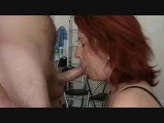 Hungarian deep throat then anal Thumb