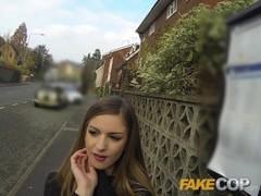 Fake Cop - Sexy women love this guys policemans helmet Thumb