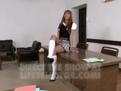 Hot teens and seduced teachers in Sorority Secrets 3 Thumb