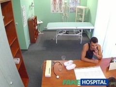 FakeHospital Hot nurse massages patient before sucking and fucking him Thumb