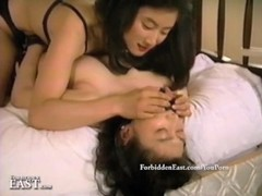 Kinky Oriental lesbian girls enjoy multiple group sex sessions Thumb