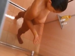 I caught a sexy babe taking a shower naked Thumb
