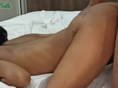 Fat chick with huge boobs riding big dildo Thumb
