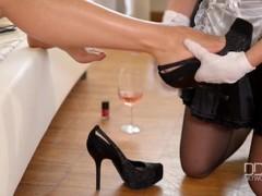 Mistress Zafira dominates Russian beauty Lindsey Olsen Pt.1 Thumb