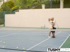 TUSHY First Anal For Tennis Student Aubrey Star Thumb