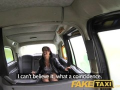 FakeTaxi London cabbie arse fucks Spanish passenger Thumb