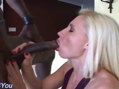 Three blonde milfs getting pounded by black and white cocks Thumb