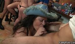 Party bbw gangbang orgy Thumb