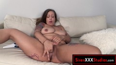 Mixed Race MILF Cums w Big Toys and Sucks BBC Thumb