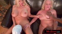 Busty Blonde Moms Fuck BBC Pool Boys Thumb