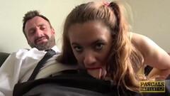 PASCALSSUBSLUTS - British Master Dominates Teen Susi Starr Thumb