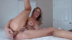 Awesome MILF with pierced pussy fucks ass Thumb